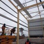 Estructura Metálica Bunge sjs Revestida con paneles
